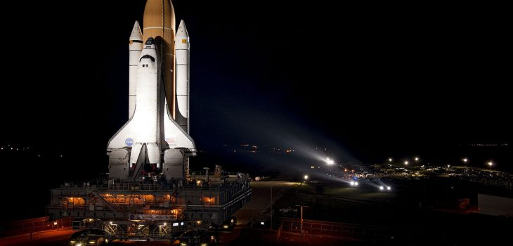 Atlantis sits ready for STS-135, the final Space Shuttle mission