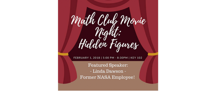UW Tacoma Math Club Movie Night: Hidden Figures